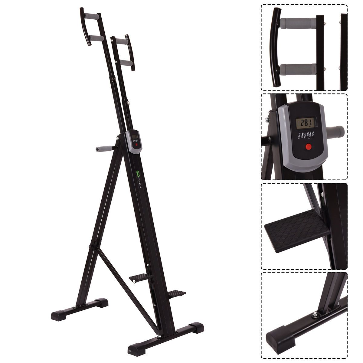 What is a vertical climbing machine?