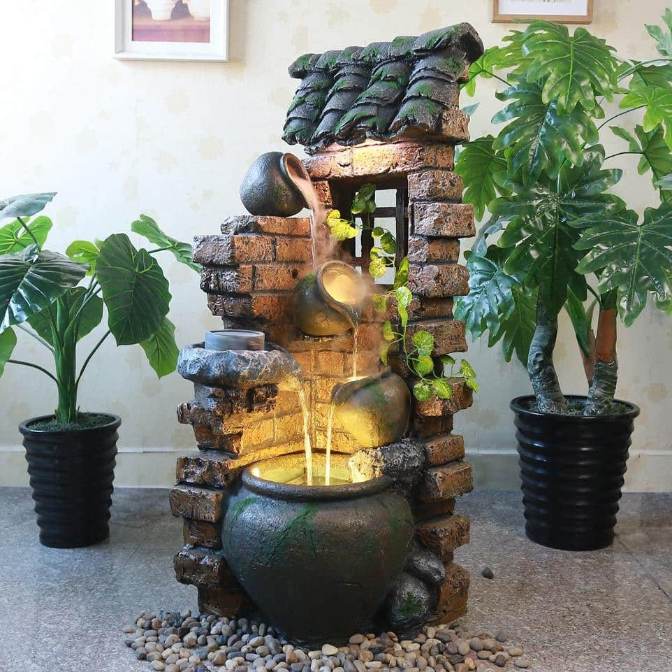 How water fountains increase your interior beauty!
