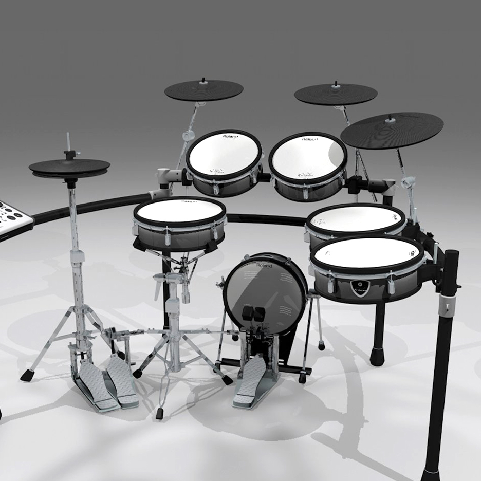 Is electronic drums better than conventional drums?
