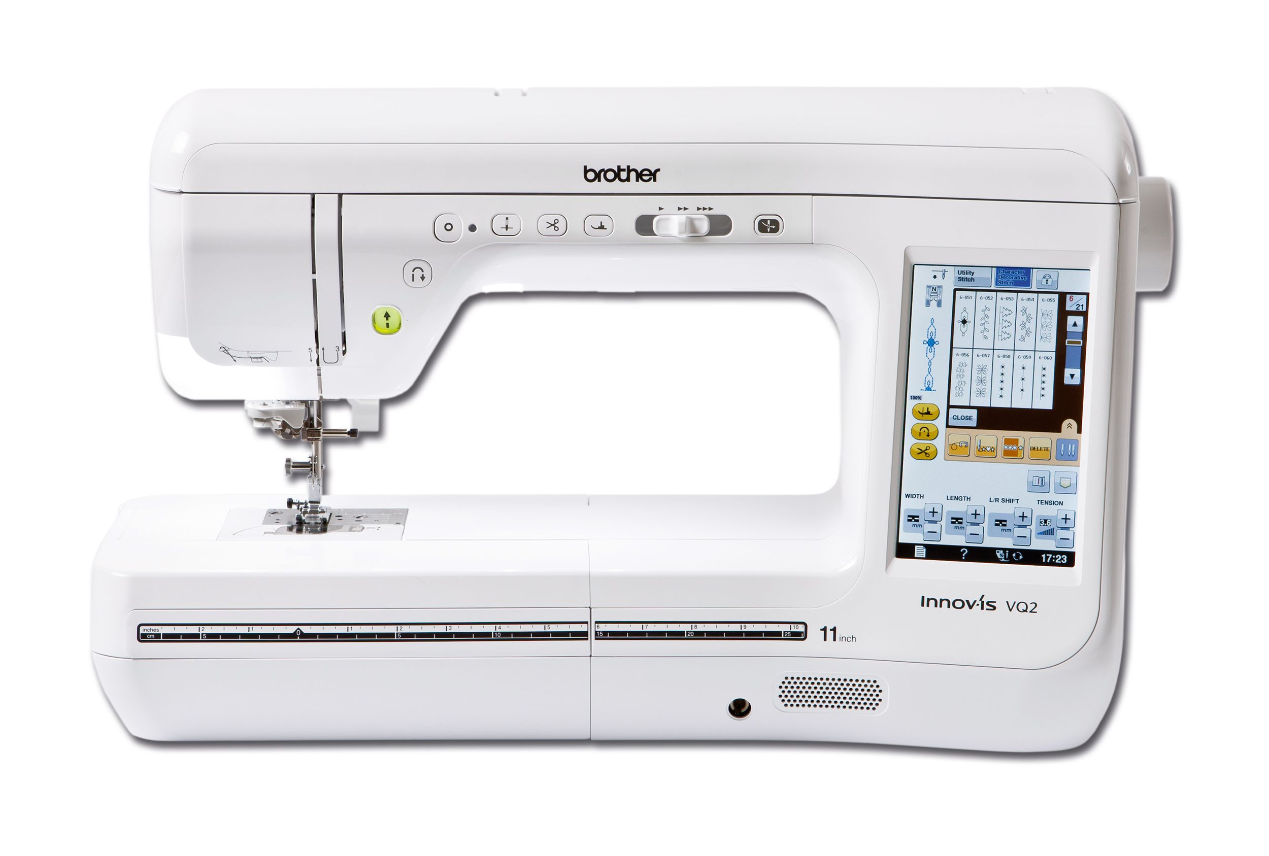 Different types of stitches on sewing machines